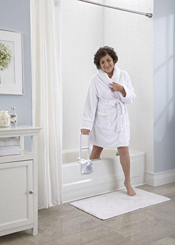 Medline Bathtub Safety Grab Bar Handle Clamps On To Side