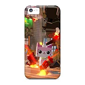 Anti-Scratch Hard Phone Covers For Iphone 5c (hPu16486qyFx) Support Personal Customs Trendy The Lego Movie Skin