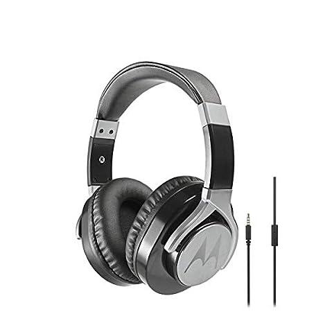 Amazon.com  Motorola Pulse Max Wired Over-Ear Headphones Hi-Fi Sound ... c74723f6b3
