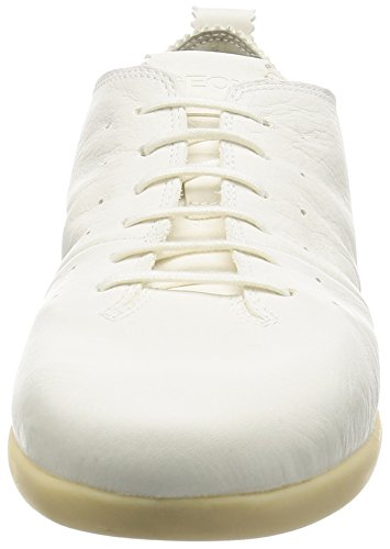 A Basse D Do Ginnastica Geox New da Bianco Donna Whitec1000 Scarpe qtfnPwZ