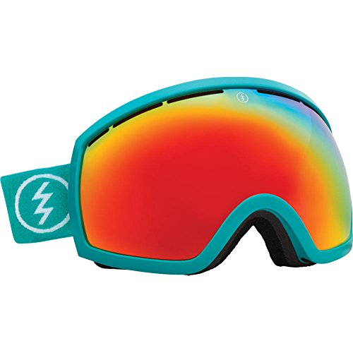 Snowboard Eg2 Goggles Electric (Real Teal Electric Eg2 Real Teal Red Mirror Oversized Ski Snowboard Goggles)