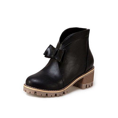 Urethane BalaMasa Black Casual Boots Womens ABL10107 Platform Slip Resistant 1wqpUSX1r