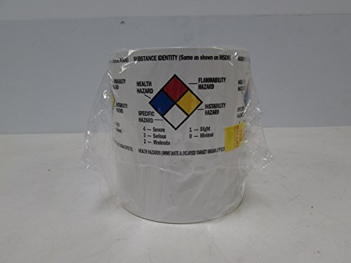 - Brady 99195 Blank Write-On Container Label  (1 Pack of 500 Labels)