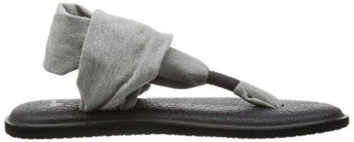 Sanuk Dames Yoga Draagdoek 2 Flipflop Grijs