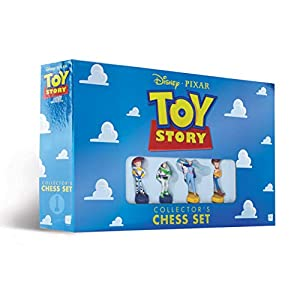 USAOPOLY Disney Pixar Toy Story Collector's Chess Set | Featuring Toy Story 4 Characters – Jessie, Buzz Lightyear, Bo…