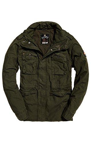 Khaki Verde Para Hombre Classicrookiemilitaryjacket military Gxr Superdry Abrigo xYqn1x4
