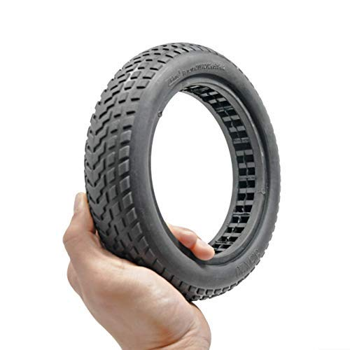Board Brothers Xiaomi M365 Electric Scooter Outer Tire Solid Rubber - No Explosion with Anti Slip - 8.5in by 2in