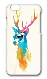 Apple Iphone 6 Case,WENJORS Awesome Sunny Stag Hard Case Protective Shell Cell Phone Cover For Apple Iphone 6 (4.7 Inch) - PC 3D