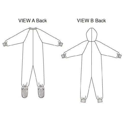 Amazon Kwik Sew K2704 Sleeper And Jumpsuit Sewing Pattern Size XS S M L XL Arts Crafts