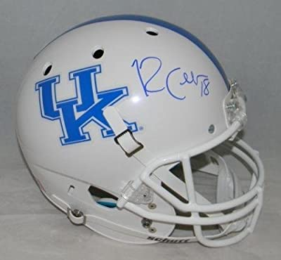 Randall Cobb Autographed Signed Kentucky Wildcats White Full Size Helmet - JSA Certified - Autographed College Helmets