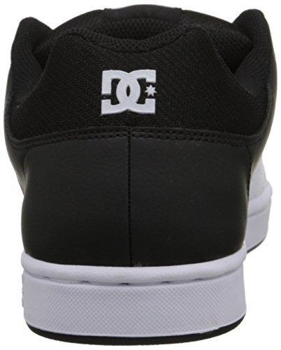 DC Mens Wallon S Shoes 10D Black/Dk Grey/Athlet Black/White