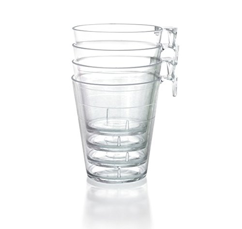 BarConic 2oz Clear Plastic Shot Glass with Hook