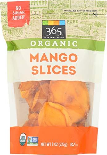 365 Everyday Value, Organic Dried Sliced Mango, 8 Ounce ()
