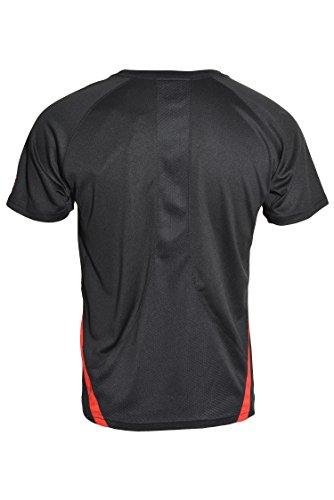 Puma Big Boy Athletic Cell Crew Shirt (Black, 14/16)