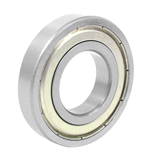 uxcell 16004-Z Single Row Shielded Deep Groove Ball Bearings 20mmx42mmx8mm ()