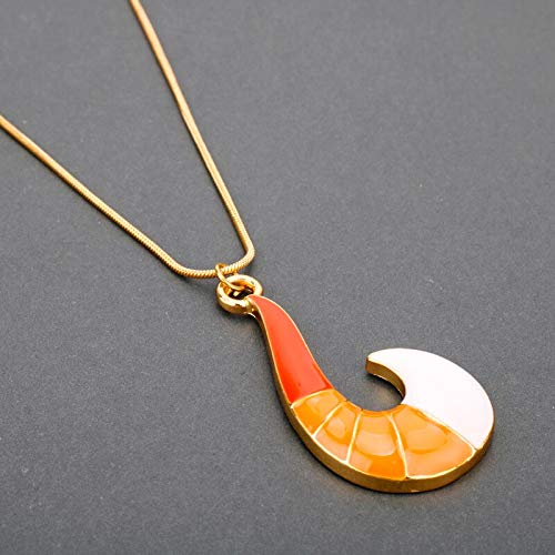 Necklace for Men Anime Jewelry Miraculous Ladybug Fox Fish Hook Pendant Snake Chain Necklace Cosplay For Party Costume Accessories