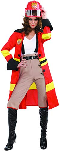 Forum Blazing Beauty Complete Costume, Red, One Size -