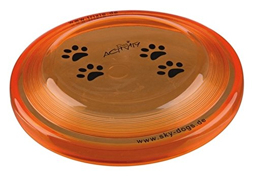 Trixie 3356 Dog Activity Dog Disc, bissfest, ø 23 cm (farblich sortier)