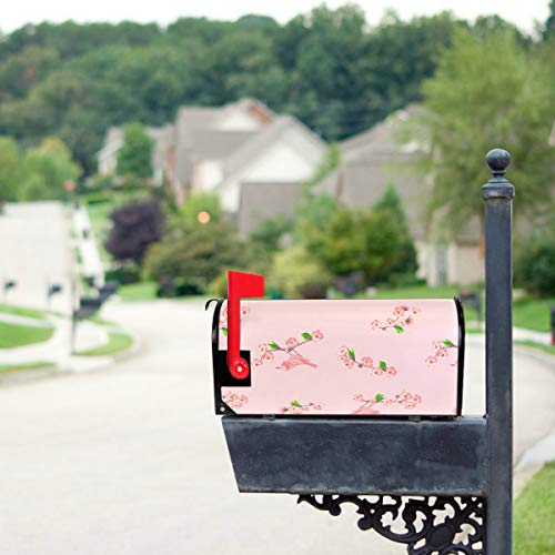 - THKDSC Colourful and Bright Leaves Mailbox Covers Standard Size Original Magnetic Mail Cover Letter Post Box 21