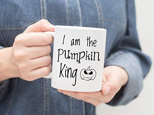 Fall Mug, Nightmare Before Christmas Mug, Jack Skellington Mug, Halloween Mug, I am the Pumpkin King, Jack Skelington Mug, Movie Quote Mug