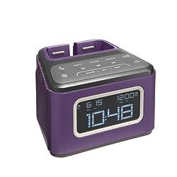 JAM ZZZ Wireless Alarm Clock (Purple) HX-B510PU