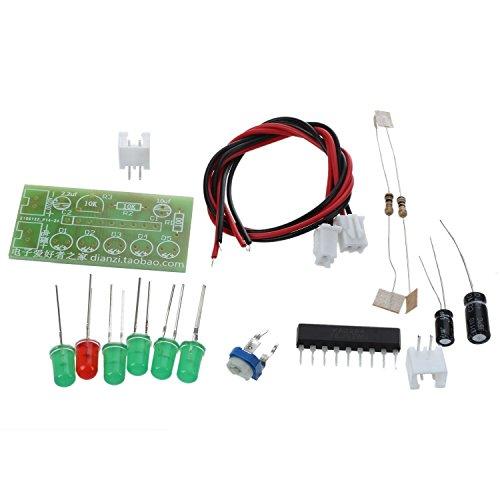 TOOGOO(R) KA2284 Audio Level Meter Level Indicating Suit LED Indicator DIY Kit for Arduino
