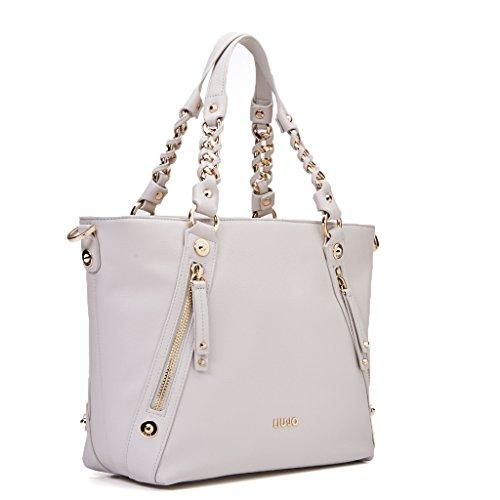 Shopping bag borsa Liu Jo Lavanda N17196 E0064 33801 champagne