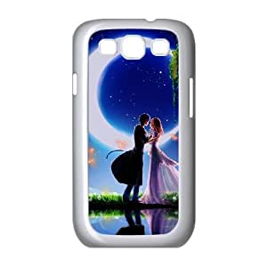 Samsung Galaxy S3 9300 Cell Phone Case Covers White cartoons Love Couple Animated Phone cover T7405103