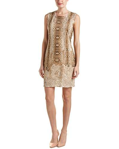 Magaschoni Womens Silk & Cashmere Blend Burnout Knit Dress, M
