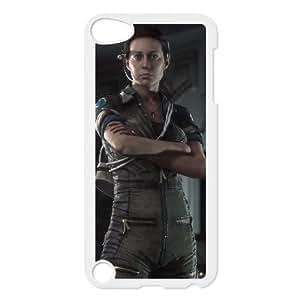 Alien Isolation 9 funda iPod Touch 5 caja funda del teléfono celular blanco cubierta de la caja funda EVAXLKNBC34305