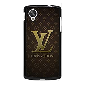Custom Louis and Vuitton Phone Case Luxury Classic Series Fashion Vintage Design Louis and Vuitton LV Logo Mobile Phone Cover Case for Google Nexus 5