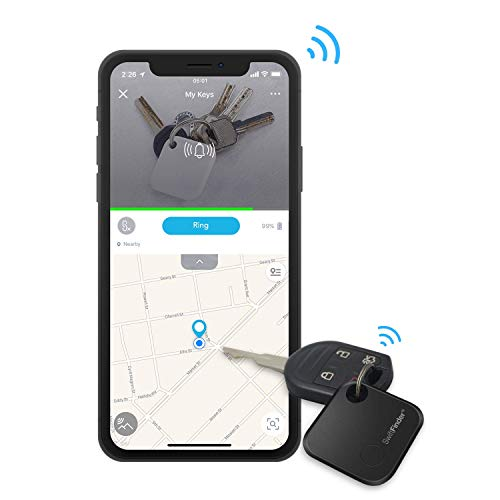 SwiftFinder ST02+,Key Finder,Phone Finder [Replaceable Battery with Long Standby Time] Bluetooth Tracker for Keys,Wallet,Bag,Smart Tag with App Control