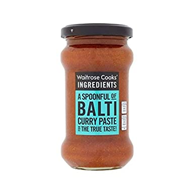 Cooks Ingredients Balti Curry Paste Waitrose 200g Pack Of