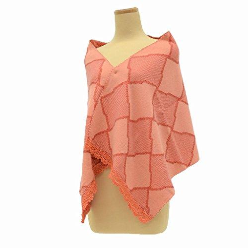 粘り強い軽食持続的着物 和装 ショール ストール リサイクル 中古 アクリル ピンク系 kka8081c