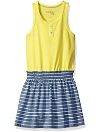 Girls' Tank and Striped Skirt Dress
