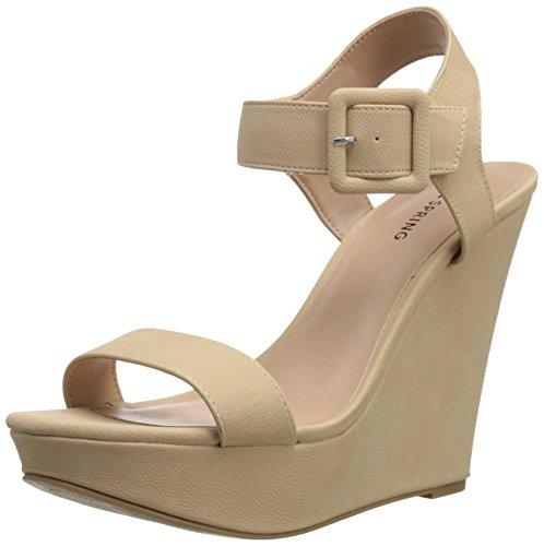 Wedge Women's Patzun Spring It Call Sandal Bone wRIqz0RvE