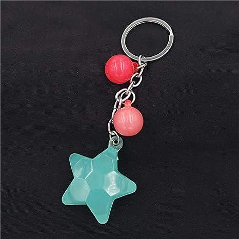 Amazon.com: Rarido - Llavero con forma de estrella, diseño ...