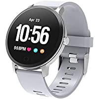 BingoFit Fitness Tracker Smart Watch, Epic Activity Tracker with Heart Rate Monitor, Waterproof Pedometer Watch with Sleep Monitor Blood Pressure, Step Counter for Kids Women Men Gifts for New Years