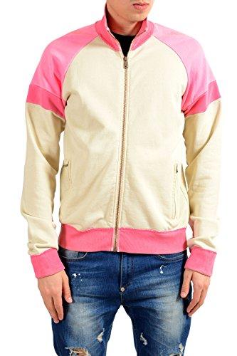 Dolce & Gabbana Multi-Color Full Zip Men's Track Jacket US S IT 48