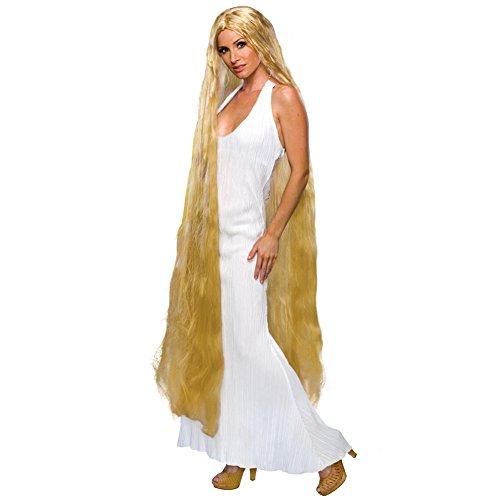 Lady Godiva Long Blonde Wig (Lady Godiva Costume Halloween)