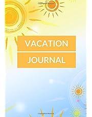 Vacation Journal: Ruled Travellers Notebook, Books, Holiday Scrapbook,Travel Planner, Keepsake, Log, Memories | Destination Checklist | Medium Softback