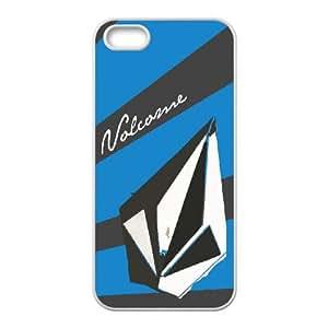 Volcom Volcom iPhone 5 5s Cell Phone Case White JN8K0KCC