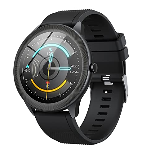 Vigorun Smart Watch for Android Phones Fitness Tracker with Heart Rate Monitor Step Counter Sleep Tracker, Music Control…