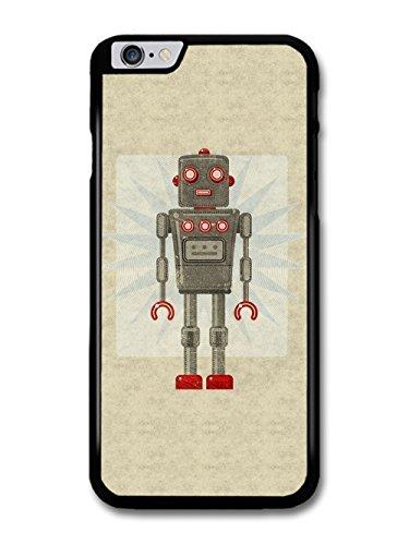 Retro Robot Minimalist Toy Hipster New Stylish Design coque pour iPhone 6 Plus 6S Plus