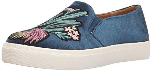 Biancheria Sporca Lavanderia Cinese Donna Jiana Fashion Sneaker Blu Velluto