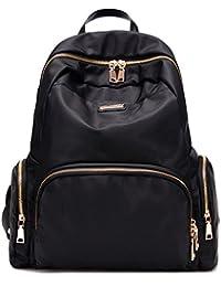 Luckysmile Women Girls Casual Nylon Backpack Purse Travel Work College Shool Bag