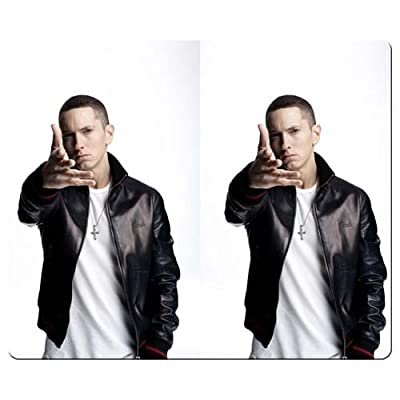 26x21cm 10x8inch personal gaming mouse mats smooth cloth Environmental rubber Non-skid Base Elegant Faddish Eminem