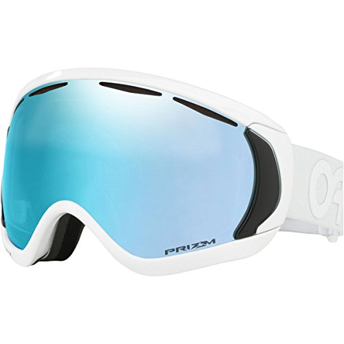 Oakley OO7081-19  Canopy Asian Fit Snow Goggles, Factory Pilot Whiteout, - Oakley Goggles Canopy