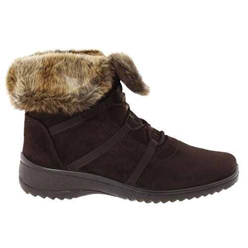 Ara Womens 12-48523 Munchen-ST Gore-Tex Brown Suede Boots...