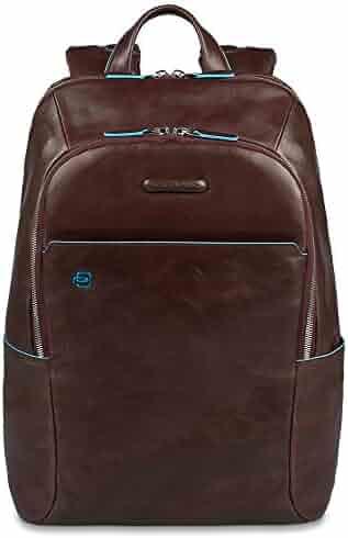 DQJKL Mens Backpack Bag Mens Leather Backpack Business Laptop Backpack Waterproof College School Computer Bag Laptop Backpack Color : Coffee, Size : 351637cm